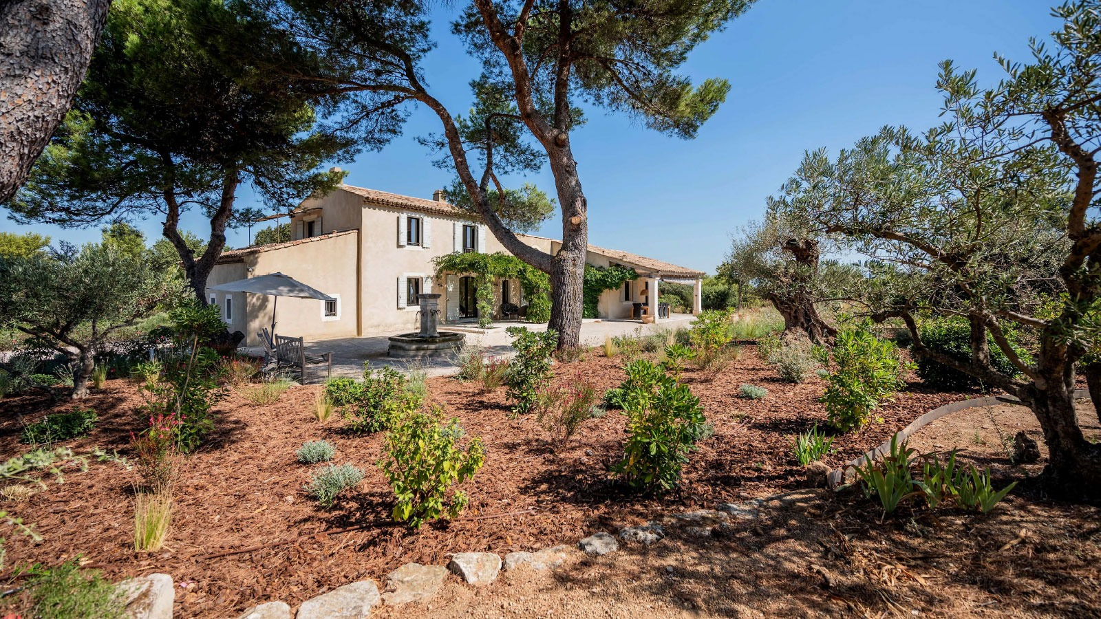 Luxurious villa for vacations in Provence