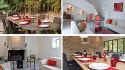 Louer une villa de 320m² à Eygalières, avec une vue imprenable sur les Alpilles et une piscine au coeur des oliviers. Capacité de 12 à 14 personnes.