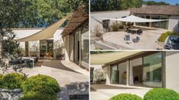 Family villa for vacation in Provence with 6 bedrooms and heated swimming pool
