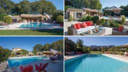 Located in Saint Remy de Provence at the foot of the Alpilles, this property is set on an exceptional garden with an indoor and outdoor pool and Pool House.
