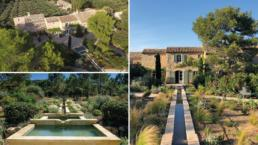 With stunning views of the Alpilles and Mont Ventoux, this villa with pool is ideal for two families with children.