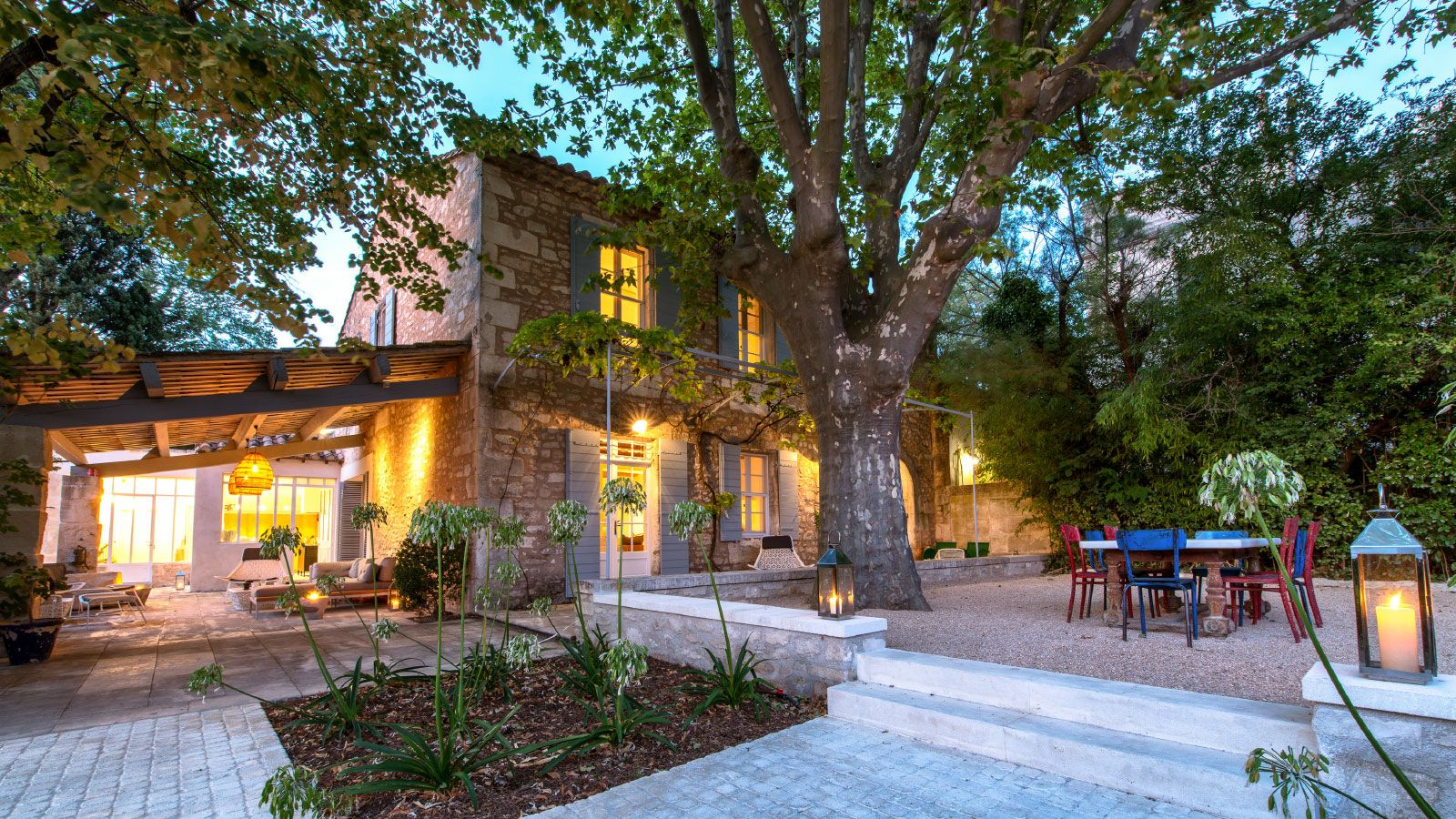 Luxury Vacation Rentals and Villas in South of France Saint-Rémy-de-Provence