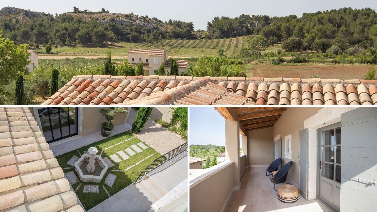 Location de luxueuses Villas à Saint-Rémy-de-Provence Bouches-du-Rhône