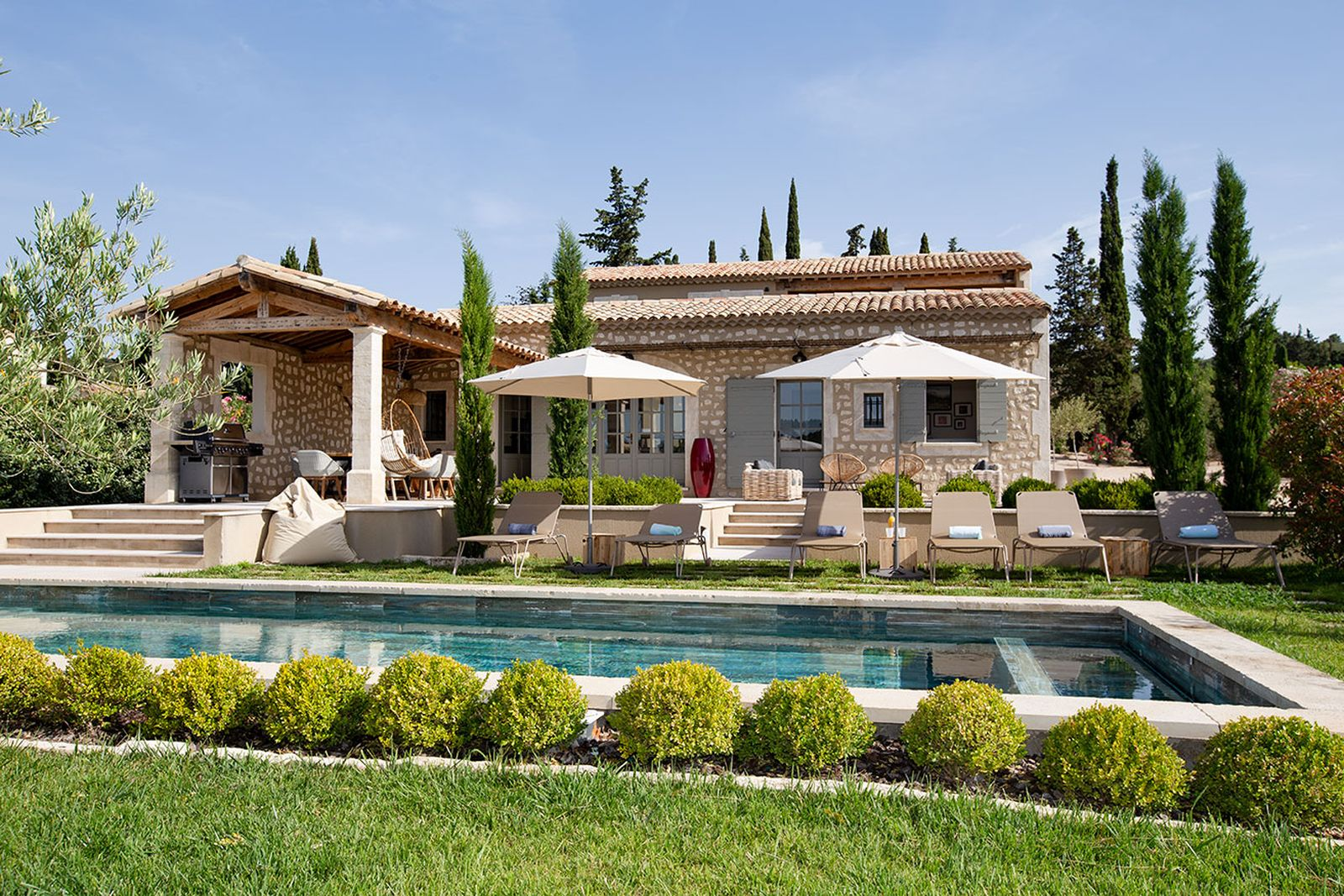 Location de luxueuses Villas à Saint-Rémy-de-Provence