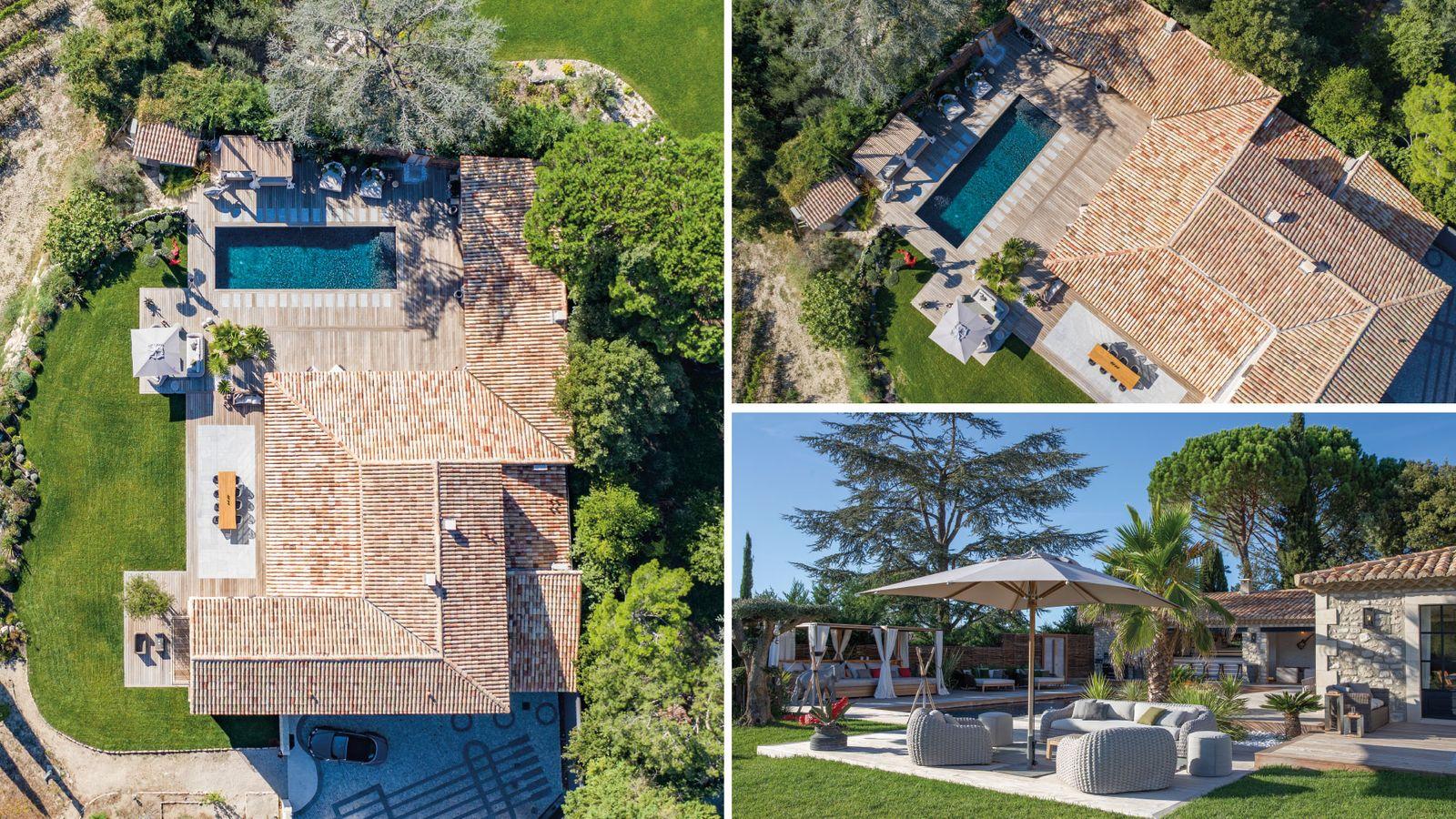 Location Villa saisonnière avec piscine privée en Provence Bouches-du-Rhône